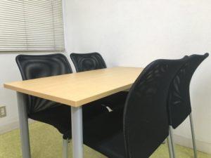 事務所の机